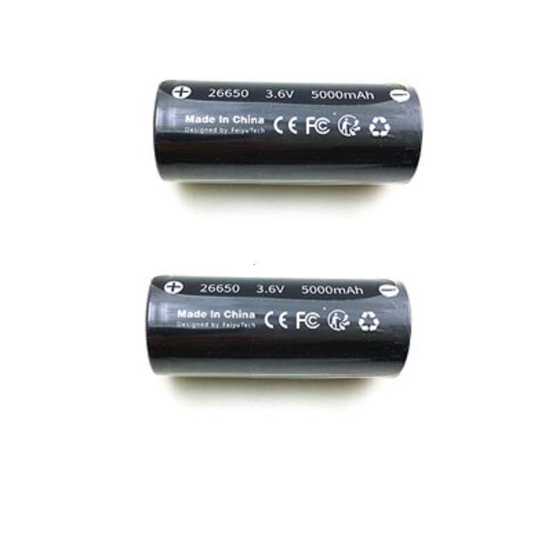 Original 26650 5000mAh 3.6V 18Wh  Li-po Battery for Feiyu G6 / G6PLUS (FY Feiyutech G6 Battery ) Gimbal Spare Parts Accessories