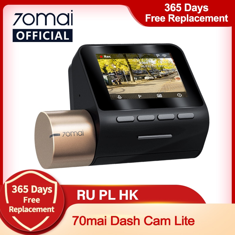 "AliExpress - New 2"" LCD Screen 70mai Dash Cam Lite 1080P  70mai Lite Car Cam Recorder 24H Parking Monitor 70mai Lite  Car DVR"