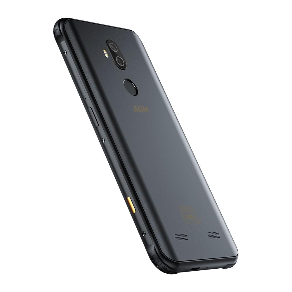 Фото5 - Смартфон AGM X3 JBL кобрендинговый, 5,99 дюйма, 6 + 64 ГБ, NFC, 4100 мАч, IP68, Android 8.1, быстрая зарядка
