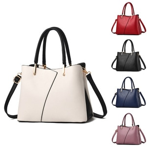 ASDS-Women's Leather Handbags Shoulder Bags,Classical Style Handle for Work