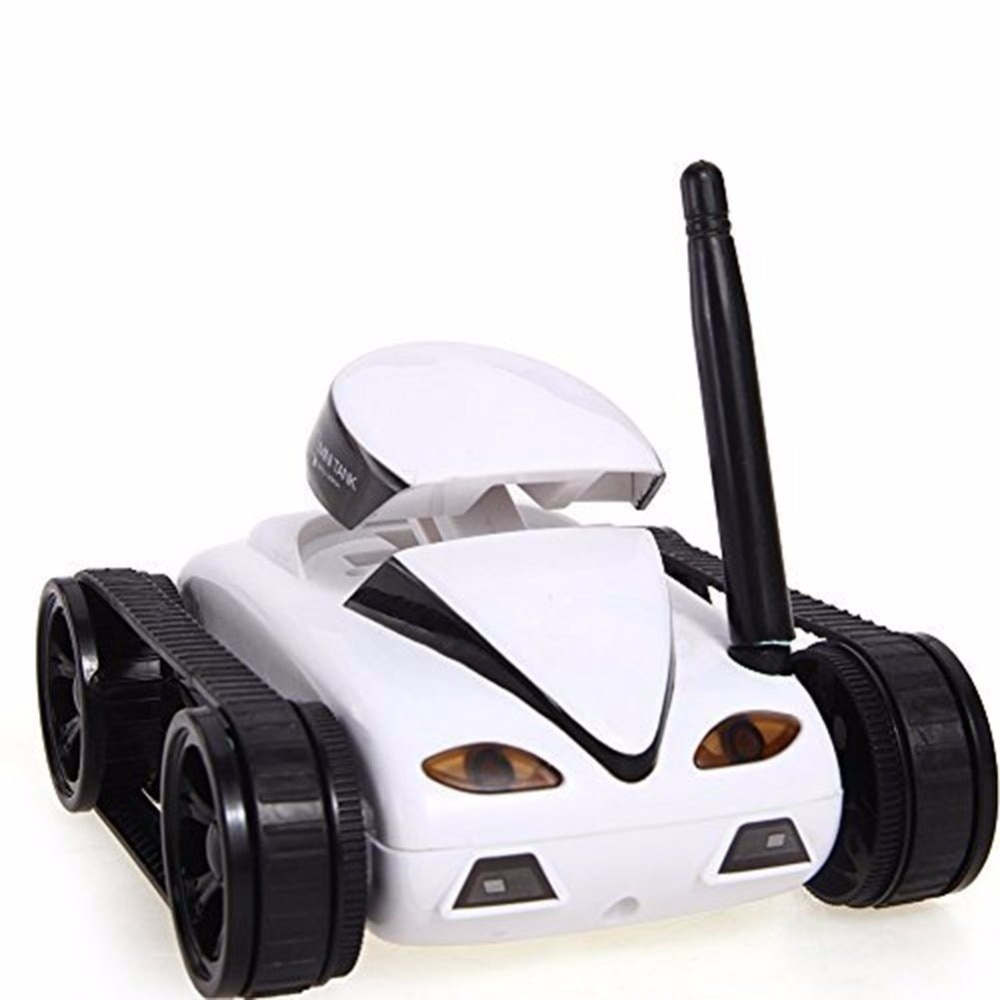 FPV iSPY WIFI Real-time Quality Mini RC Tank HD Camera Video Remote Control Robot Car Intelligent IOS Anroid APP Wireless Toys enlarge