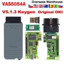 5054 ODIS v5.1.3 V4.3.3 keygen Full Chip Original OKI Auto OBD2 Diagnostic Tool 5054A Bluetooth 5054 CODE Scanner