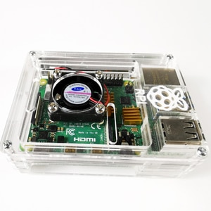 Acrylic transparent shell 4th generation B chassis cooling box accessories