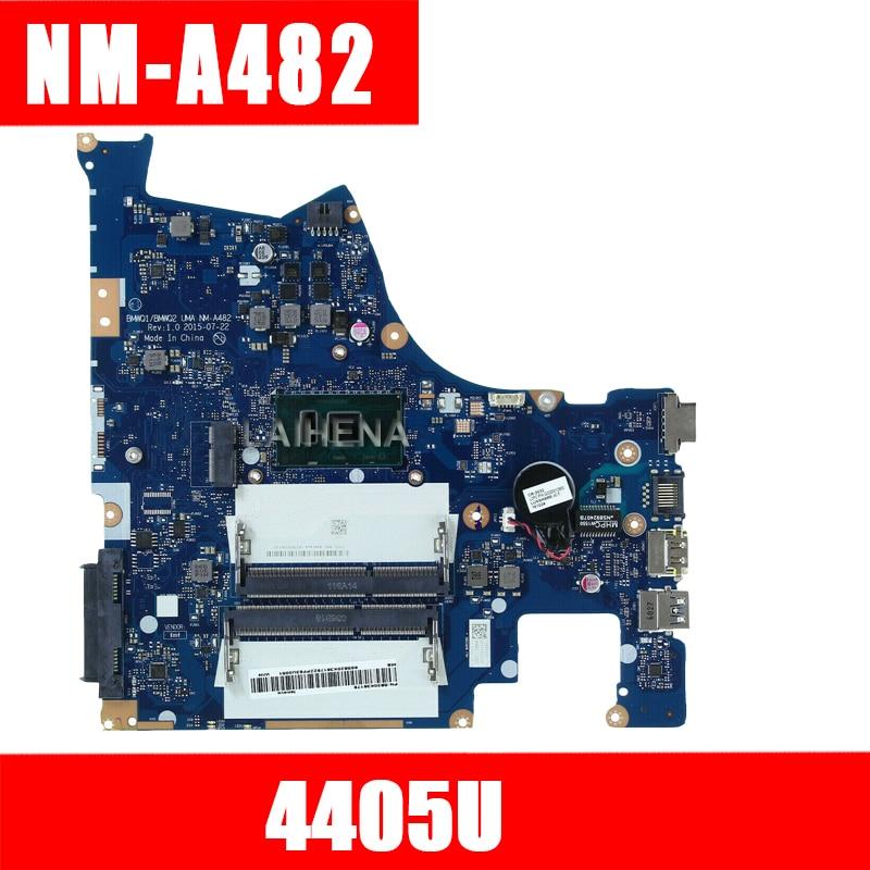 Original y nuevo BMWQ1/BMWQ2 NM-A482 placa base para Lenovo Ideapad 300-15isk placa base para ordenador portátil con cpu intel 4405