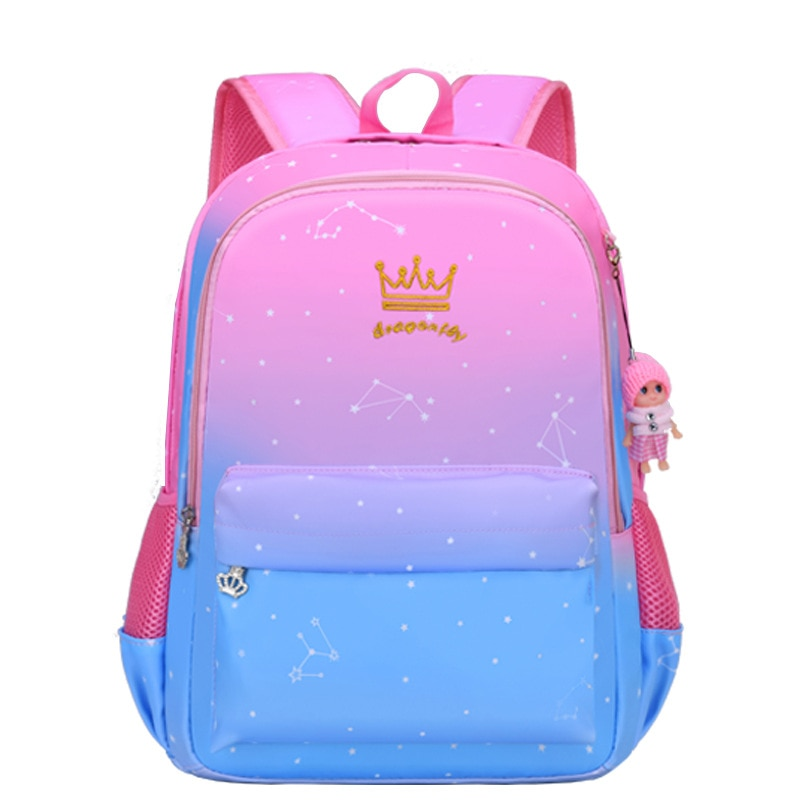 Cute Girls School Bags Children Primary School Backpack kids satchel book bag Princess Schoolbag kids backpack Mochila Infantil