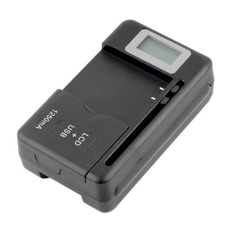 2020New Mobile Universal Battery Charger LCD Indicator Screen For Cell Phones USB-Port Hot Promotion Wholesale