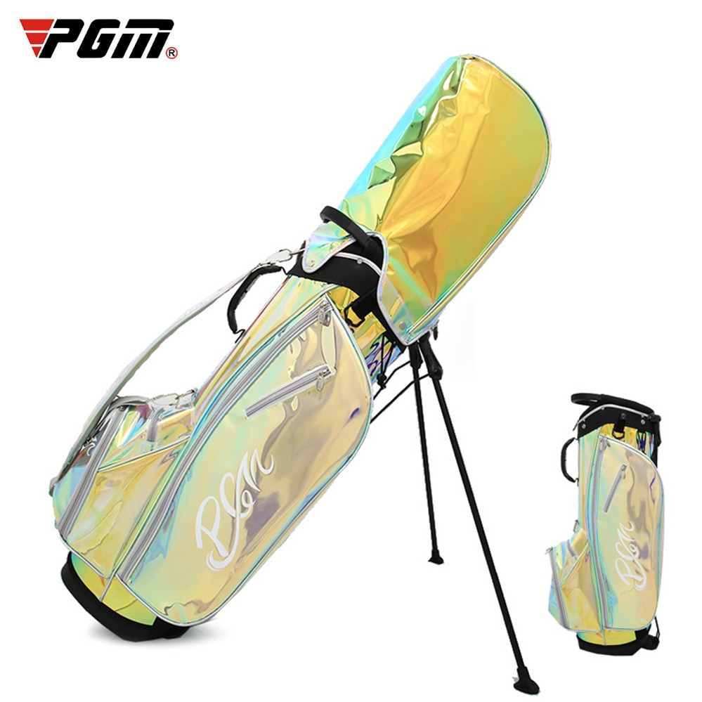 Ladies Golf Gun Bag With Braces Bracket Stand Bag Trendy Colorful Ball Bag Portable Version Support Lightweight Golf Club Bag