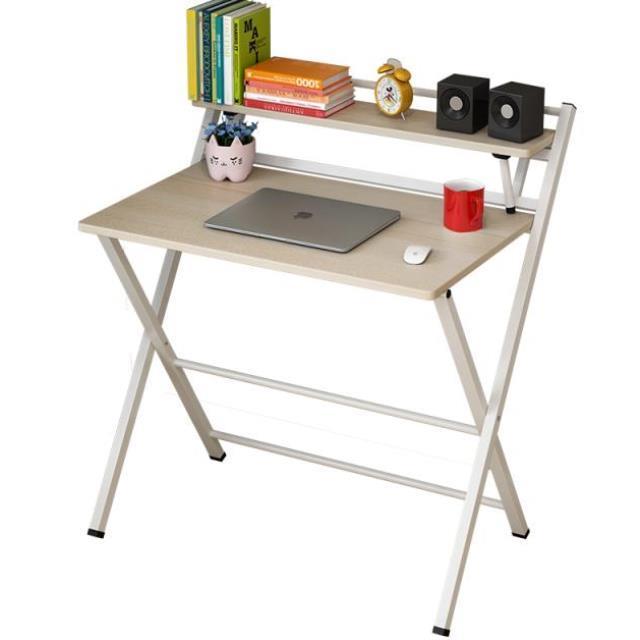 Mesa plegable sencilla y moderna para el hogar, mesa portátil pequeña para...