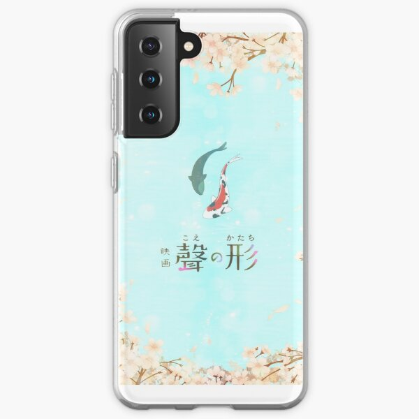 Together Koe No Katachi Inspired Design  Phone Case for Samsung Galaxy S7 S8 S9 Edge Note 8 9 10 20