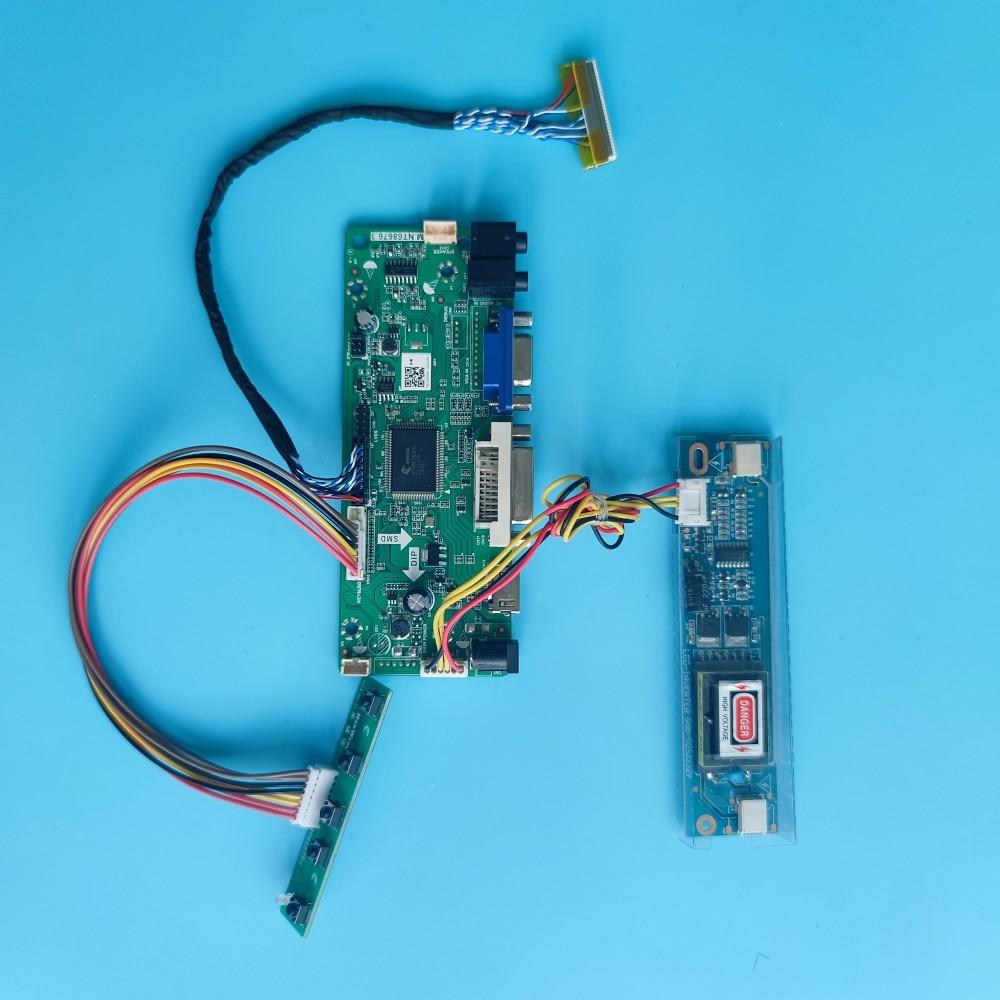 M.NT68676 DVI VGA LCD لتقوم بها بنفسك مجموعة لوحة التحكم ل M201EW02 VD 1680x1050 لوحة 20.1