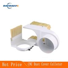 65-125mm 직경 먼지 커버 수집기 65mm/100mm 먼지 커버 스핀들 모터 밀링 머신 라우터 cnc 브러시 목공 도구