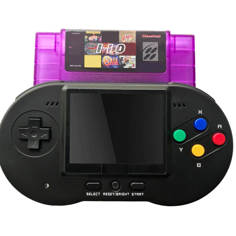 TV Out Support Standard USA Version Cartridge Mini 46 Pin 16 Bit Super Game Console Handheld Retro 110 in 1