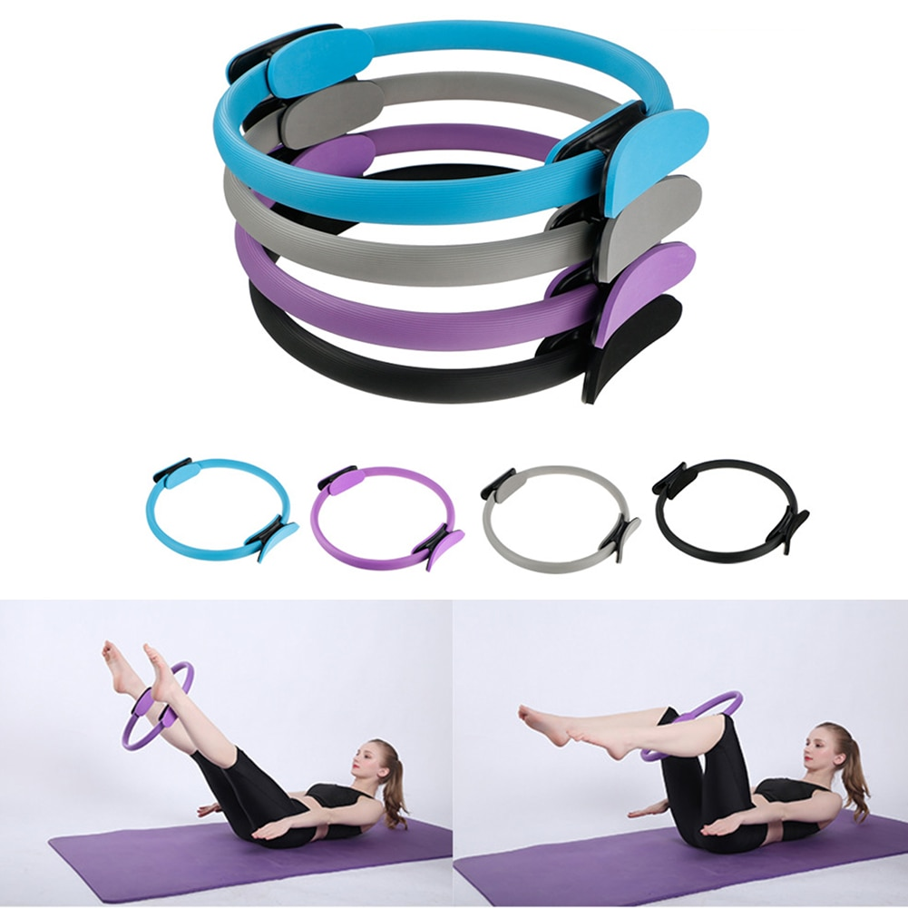 Professional Yoga Circle Pilates Gym Workout Yoga Resistance Circle Pilates Women Fitness Sports Mag