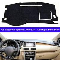 Car Dashboard Cover Dashmat Cape For Mitsubishi Xpander 2017 2018 Auto Inner Dashmat Pad Carpet Dash Mat Sun Shade Cushion
