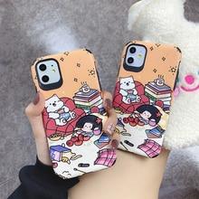 TPU Soft Cover Cartoon Fruit All Inclusive Case for IPhone 11 Pro Max Se 2020 Phone Xr Xs X Plus 10 9 7 8 6s 6 Caps Coque Fundas