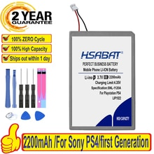 100% HSABAT 2200mAh LIP1522 Batteria Per Sony Gamepad PS4 Dualshock4 V1 controller Wireless CUH-ZCT1E CUH-ZCT1U CUH-ZCT1H/B