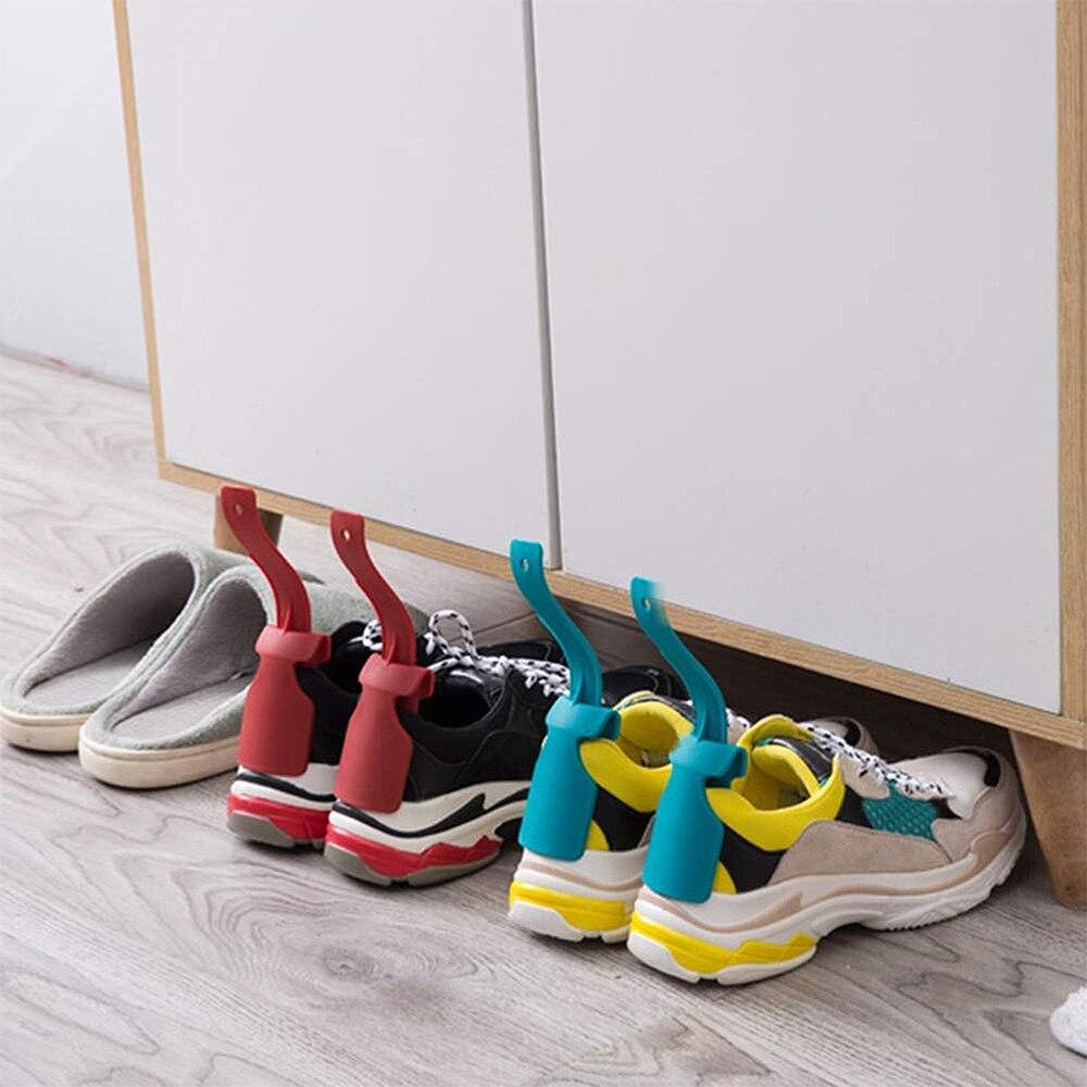 2 unids/set Zapato de cuerno perezoso y herramienta de cuerno de zapato...