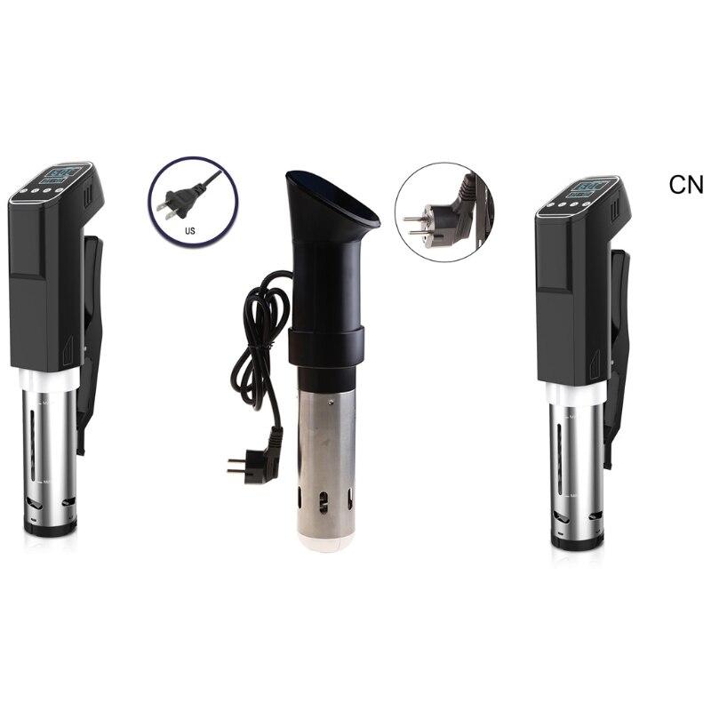 Sous Vide Cooker 1000W-مؤقت درجة حرارة دقيق من الفولاذ المقاوم للصدأ-طباخ غاطس حراري ، طباخ طعام فراغ ، WIFI LCD