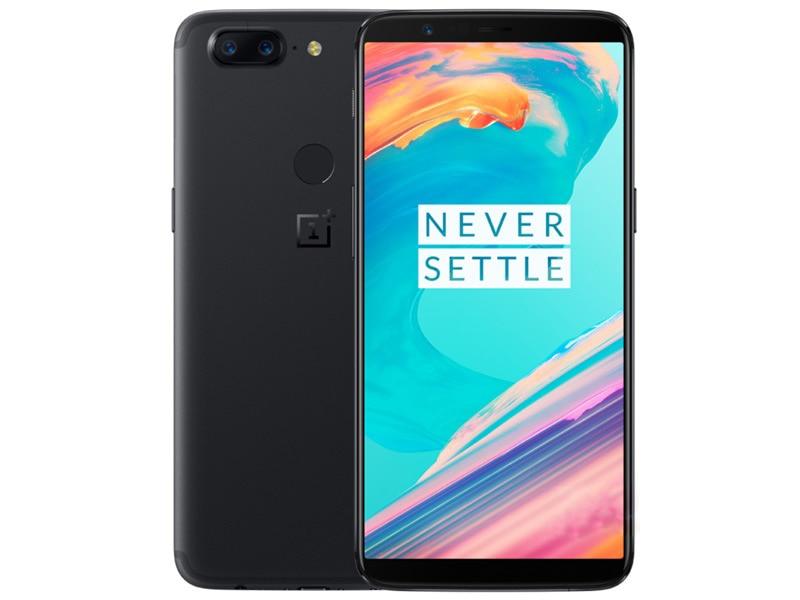 Совершенно новый телефон мобильный телефон Oneplus 5 T, 5 T, 6 ГБ ОЗУ, 64 Гб ПЗУ, Восьмиядерный процессор Snapdragon 835, полный экран 6,01 дюйма, двойная тыло...