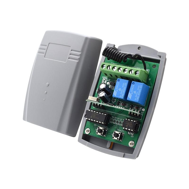 5 قطعة بوابة التلقائي 433 ميجا هرتز التحكم عن بعد دوران نوفا بوجول بينكا ديا ATA جهاز ريسيفر استقبال وإرسال متوافق 433.92 ميجا هرتز