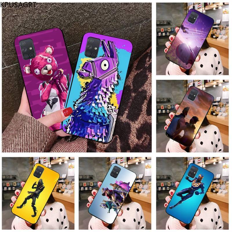 Hot game fire FN battle royale Silicone Phone Case For Samsung Galaxy A21S A01 A11 A31 A81 A10 A20 A