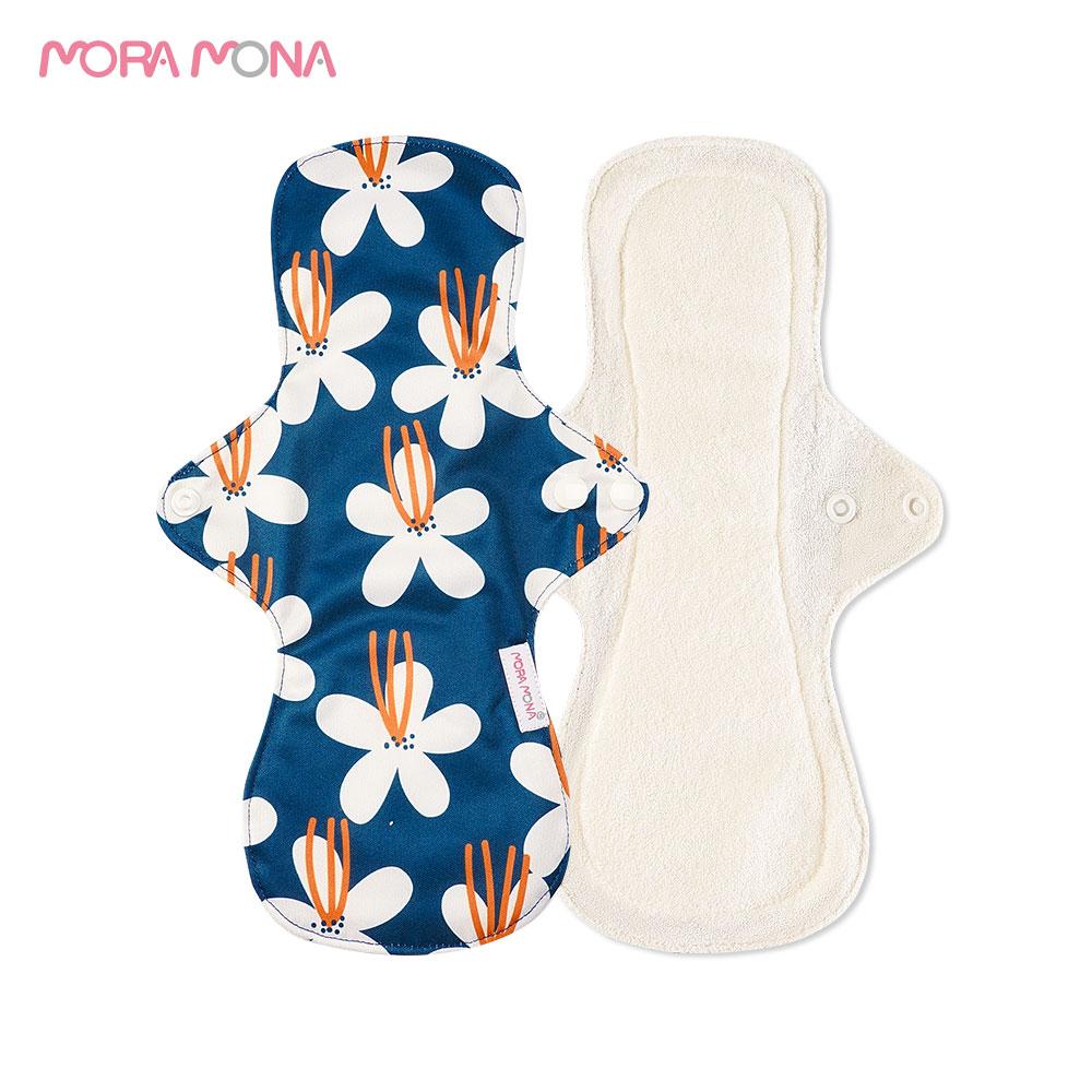 mora-mona-5-pcs-lavabile-panty-liner-mama-maternita-mestruale-pad-riutilizzabile-in-fibra-di-bambu-assorbente