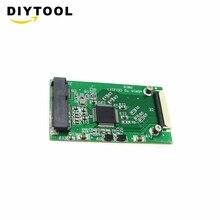 1,8 lnch mSATA PCI-E SSD до 40pin ZIF CE кабель адаптер конвертер карта Win98/SE