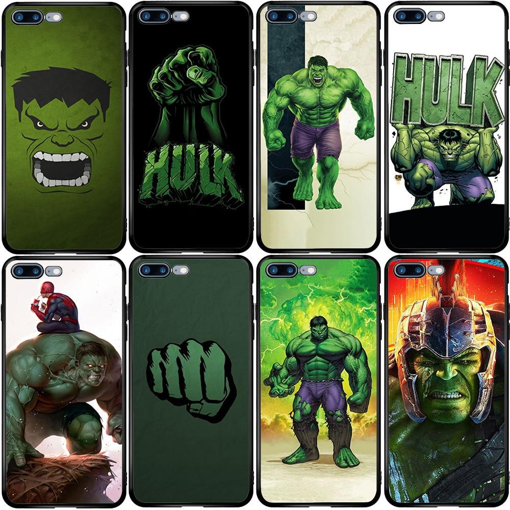 Superhéroe Hulk funda para Huawei Honor amigo 10 20 30 P10 P20 P30 P40 P Smart Z Lite Y5 Y6 Y7 Y9 Nova Pro Plus