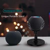 Convient Pour Echo Dot 4   Homepod Mini Bluetooth Haut-Parleur Socle De Bureau 360 degres Support Rotatif