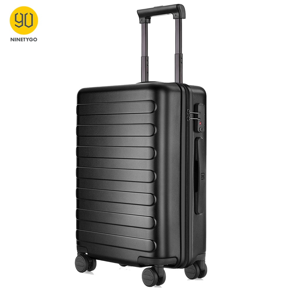 NINETYGO 90FUN PC Suitcase 28 Inch Carry on Spinner Wheels Luggage TSA Lock for Women Men School College Business