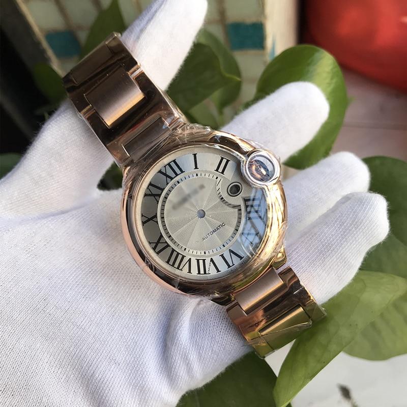 Ballon bleu Watch Cases Plus Stainless Steel Watch Bracelet Bands For 284-2/2892-2 Movement, Watch Case Diameter 44mm