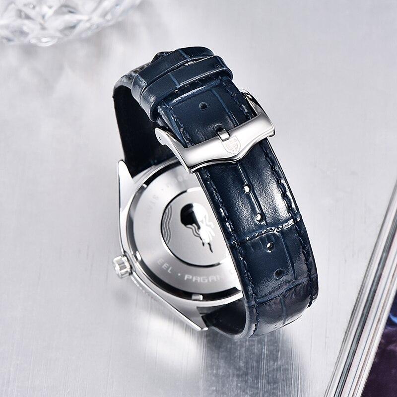 PAGANI DESIGN New Fashion Luxury Sapphire Relogio Masculino Multifunctional Quartz Chronograph Stainless Steel 200M Waterproof enlarge