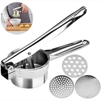 stainless steel manual juicer press squeezing potatoes baby food supplements potato mashers and juicers kitchen tools