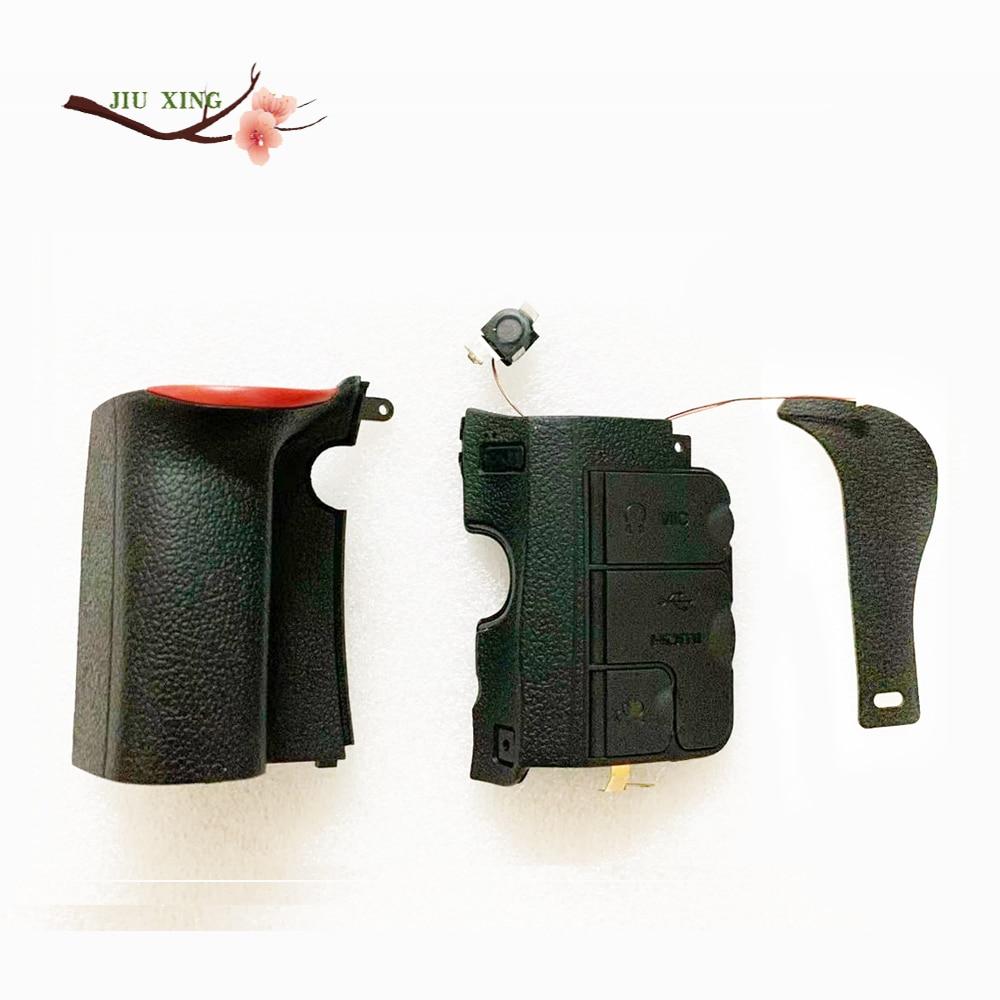 Набор из 3 предметов для Nikon D600 D610, резиновая Нижняя крышка для камеры, ручная часть + лента