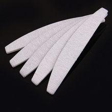10 Pcs/lot Nail Art Sanding Files Women Girls Sandpaper Nail Files Buffing Curve Manicure Tools Set