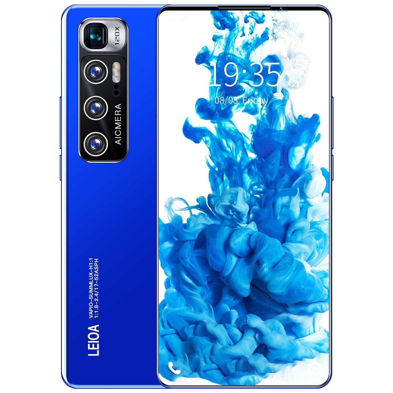 M11 Pro 6.8 Inch 128gb/256gb 5600mah Deca Core Andriod 10.0 Mobile Phones Fingerprint Identification 5g Network Smart Phone