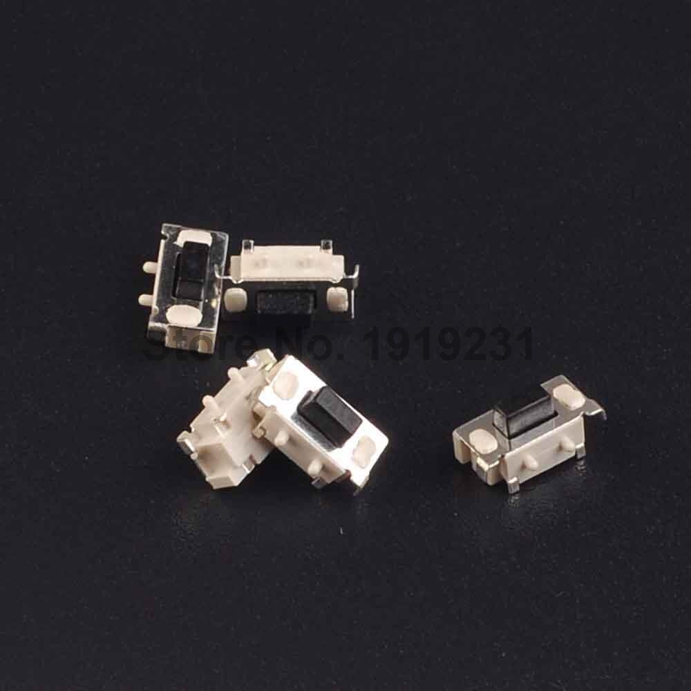 50 Uds SMT 3X6X3,5 MM 3*6*3,5mm botón pulsador táctil Micro interruptor momentáneo