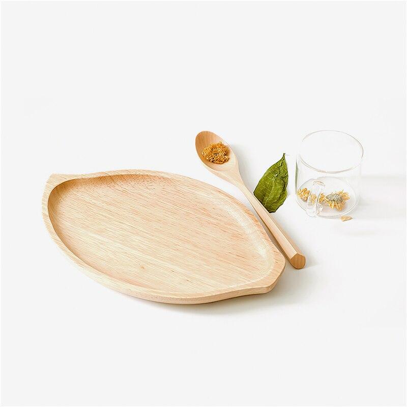 لوح خشبي صلب ياباني ، بيئي ، غير منتظم ، طقم شاي ، صينية ، لوازم مطبخ ، أدوات مائدة