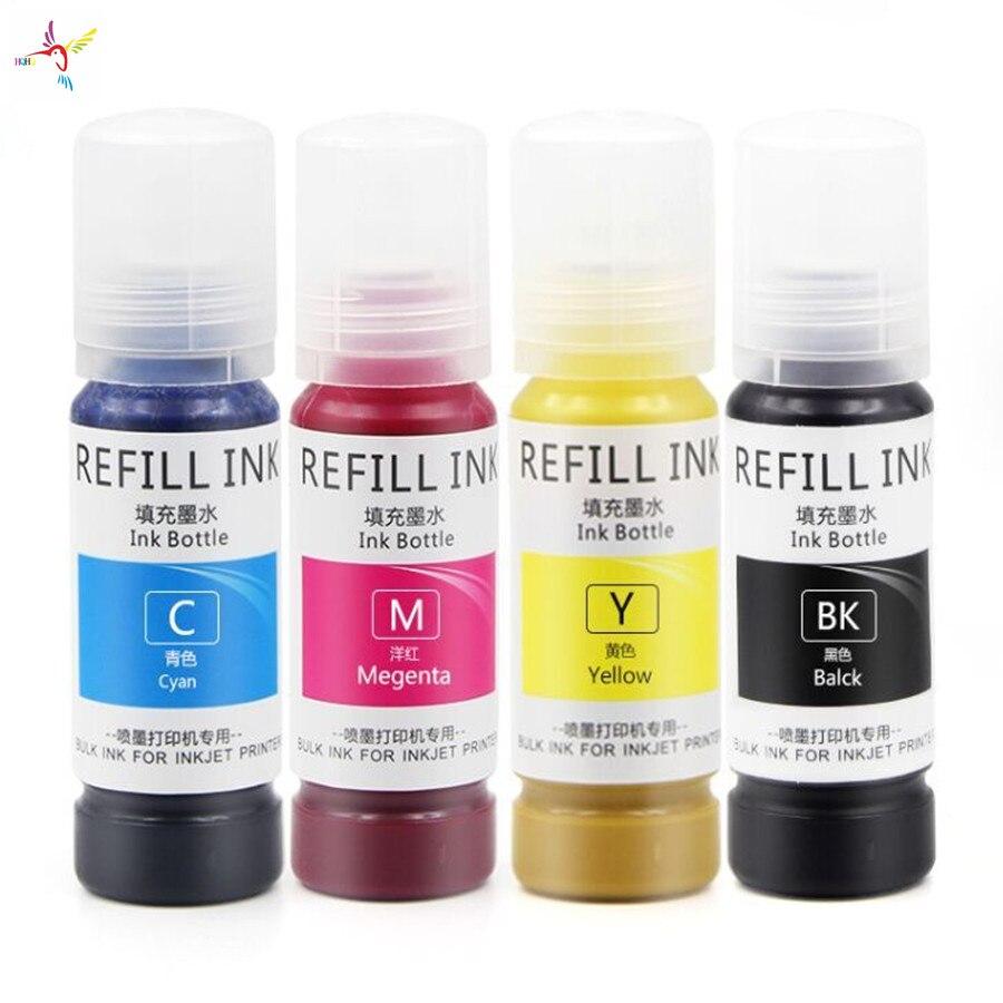 New Arrival Sublimation Ink 4Colors /Set 70ml for Epson Desk Printers L3118/L3119/L3156/L3158/ET2700/2750/3700/3750/4750