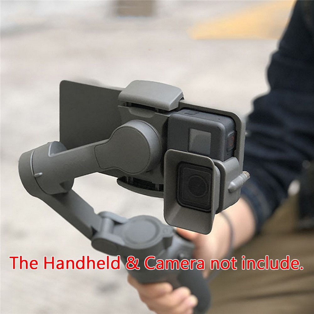 Портативный ручной адаптер держатель для камеры для DJI OSMO Mobile 3 to для GoPro 5/6/7 аксессуары для стабилизатора камеры