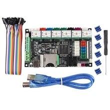 3D Drucker Zubehör Dual Z Achse 3 Druckkopf Motherboard MKS Robin Pro + TMC2209 Fahrer Marlin 2,0