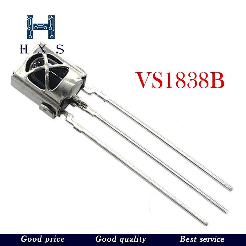 10 pcs HX1838 VS1838B VS1838 universal infrared reception head  infrared sensor 1838