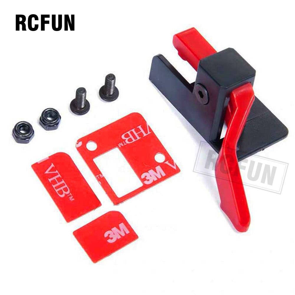 RC TRX4 Easy Start Trigger ESC Power Switch Bracket Power Transfer For TRX4 ESC Easy Start Trigger DIY