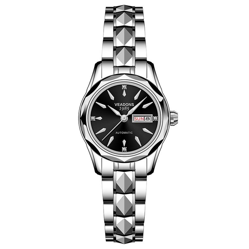 Women's Watches Waterproof Tungsten Steel Mechanical Watches Fashion Diamond light luxury watches enlarge