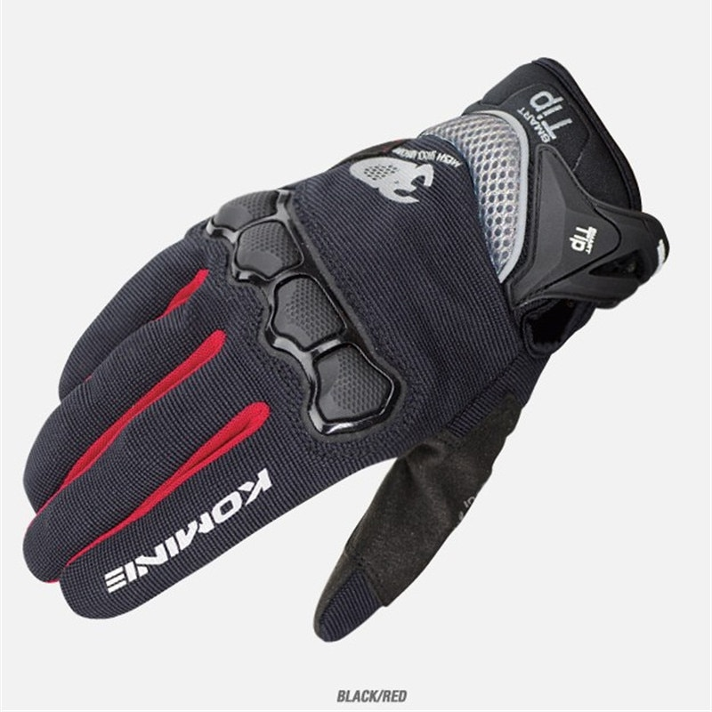 KOMINE Summer Motorcycle Gloves Breathable 3D Mesh Motocross Off-Road Riding Gloves Men Street Moto Protective Gear GK-162 enlarge