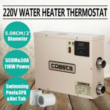 Summile 11KW 풀 히터 전기 220V 스파 히터 전기 난방 및 온도 조절기 풀 히트 펌프