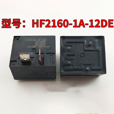 new original relay 10pcs lot myaa024d myaa024d 24vdc 24v 5a 4pin NEW Original 2pcs/lot Relay HF2160-1A-12DE HF2160-1A-24DE 4PIN 30A 12V 24V Wholesale one-stop distribution list