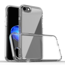 HD Clear Case For iPhone 8 TPU Back Cover With Air-Bag Anit-Shock&Fall&Dust&Scratch Full Protection