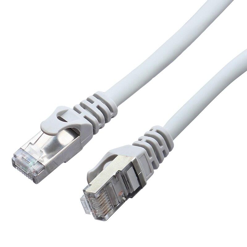De alta velocidad 1mtr Cat7 SSTP 26AWG Cable de cobre lleno Cable...