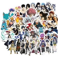 103050pcs anime fairy tail stickers car bike travel luggage phone guitar laptop fridge waterproof classic toy decal stickers